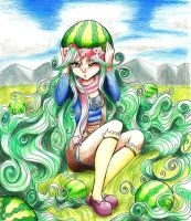 watermelon girl by fresitarubia