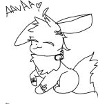 Me As An Eevee Reoutlined by Starry-night-dog