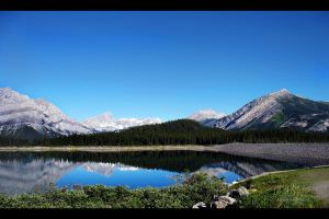 Lower Lake Kananaskis - 2 by ShonnaWhite
