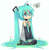 Hey Miku what's that by ChibiShine