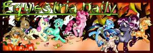 Equestria Daily Autumn Banner by DaybreakNomad