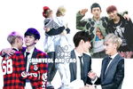 Chanyeol and Tao's PNG Pack by kamjong-kai