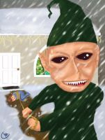 This one won't go out trough the chimney by The-Dander