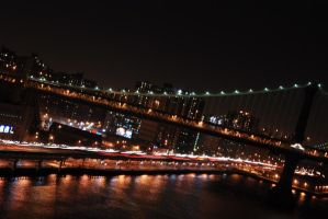 Hudson Night Lights by ownorosho