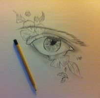Practice eye by bl1zzardst0rm