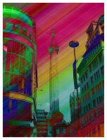 Monument London Technicolor by hamsher