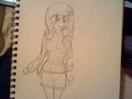 Humanized Fluttershy (For a Friend) by ShiGersDawn
