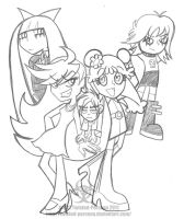 HHPAY and PSG Group Shot by Twisted-Persona