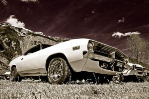 1973 Plymouth Barracuda by AmericanMuscle