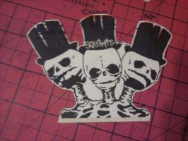 Skullies Stickie by MissFord66