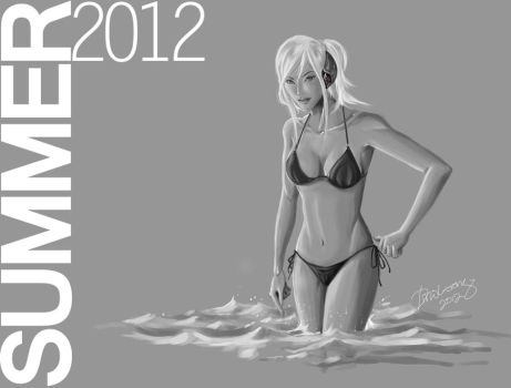 Summer Sea 2012 by szeloong