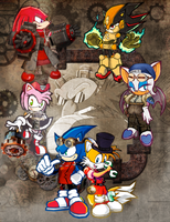 Steampunk Sonic by Generalorder4
