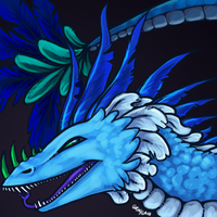 Feathered Dragon by Xainy by Gatekat