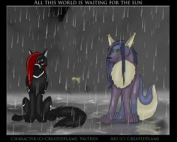 World is waiting for the sun by CreatedFlame