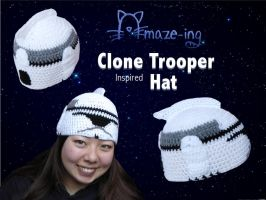 Amaze-ing Clone Trooper Hat by Amaze-ingHats
