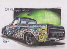 '69 Chevy's Pick-up by HorcikDesigns