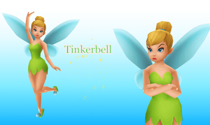 MMD Tinkerbell by KingdomHeartsNickey