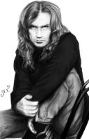 Dave Mustaine by AnastasiumArt