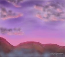 Dawn on Storm Mountain by KeeleeHamomin8788