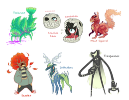 Monsters for Sale p2 by blinkpen