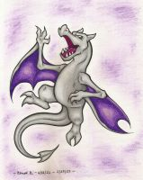 Aerodactyl - Request by TheGreenDragonGirl