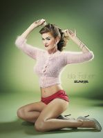 Isla Fisher - Pinup by Sunkilla-FR