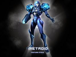 METROID PRIME - COSTUME ETOILE by Charon133