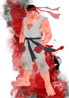 Ryu Street Fighter by glowingblue