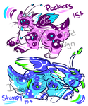 The Pomvons! +Creature adopts 4 Sale+ OPEN by iSapphirus