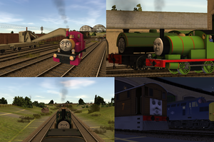 TTTE Trainz - Recreating fanmade series scenes by Percyfan94