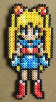 Sailor Moon beaded sprite by nekomusume