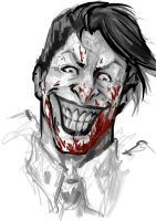 Joker Sketch by SAM---tan