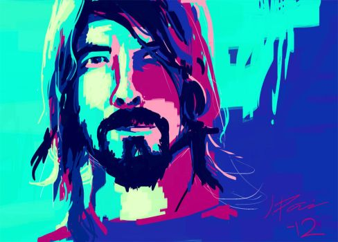 Digital painting 5 - Dave by JIIP33