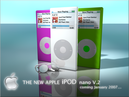 IPOD NANO FAKE COMMERCIAL by zigshot82