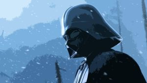 Darth Vader and the snow by kaiser89