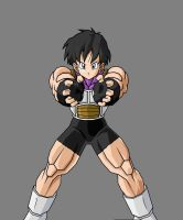 Videl's Ready to Fight by EspadaDelOscuro