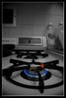 Old Gas Stove by Paperback-writer-00