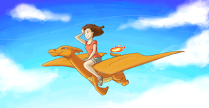 Refreshing flight by FEuJenny07