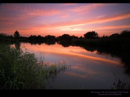 AfterGlow Over Moulden Pond II by GMCPhotographics