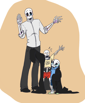 Skele-dad! by QueensDaughters