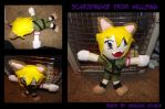 Commission: Schrodinger Plush by kojika