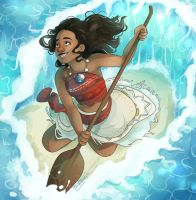 Moana by SixofClovers