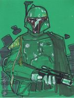 Oct 7 Art Cast Boba Fett by Hodges-Art