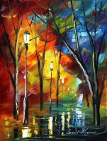 MY TEARS - LEONID AFREMOV by Leonidafremov