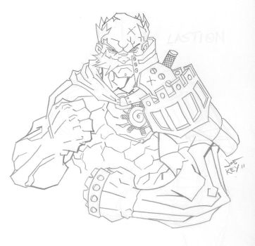 Lastion V.1 Pencils by joekey