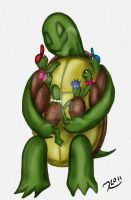 Mother Turtle by Rene-L