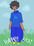 .: Happy 4/13 !! {REDRAW} :. by gracefulScribble