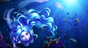 In the Deep/I'm Here by TheLadyWellflower