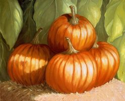 Pumpkins by zabegat