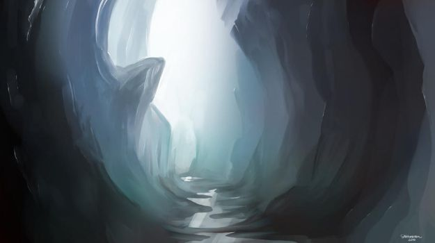 Ice Canyon - Speed by LJFHutch